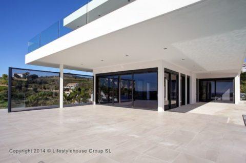 Villa Canberra- Estilo Modernista En Benahavis entrada
