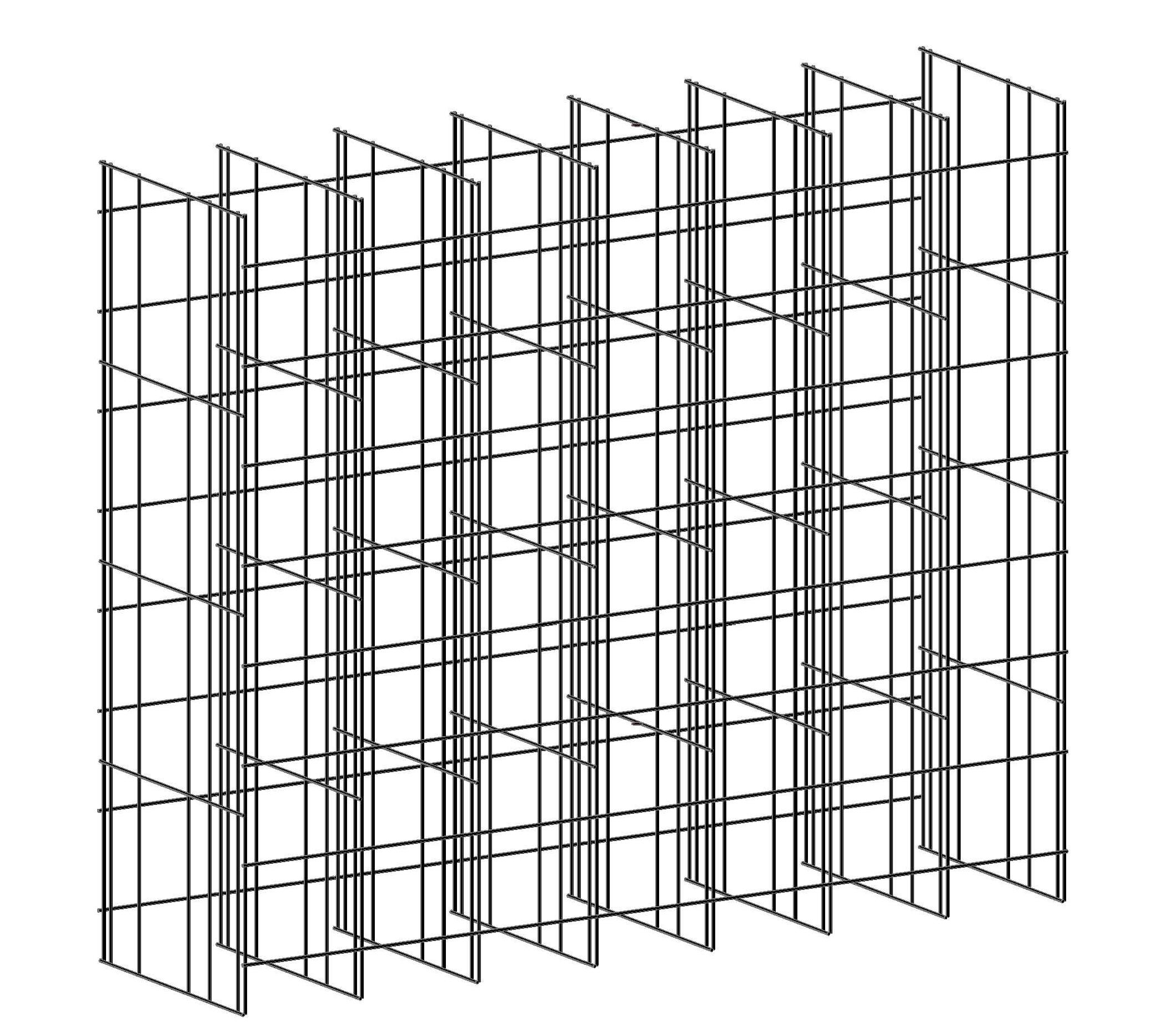 Sistema modular - mallas reforzadas