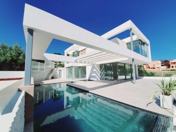 Villa de lujo industrializada Mijas